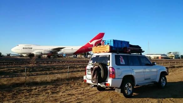 Thats a huge plane - Qantas